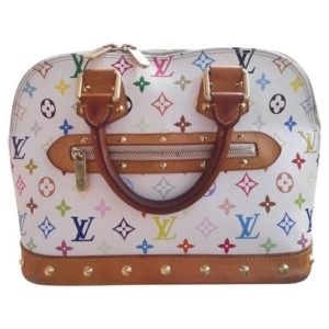 Louis Vuitton Alma Monogram Multicolore Canvas