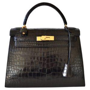 Hermès Tasche Krokodilleder