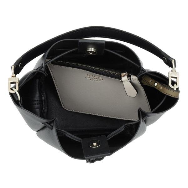 5e7409751c0eb Guess Beuteltasche - Ella Mini Bucket Bag Black - in schwarz - für Damen