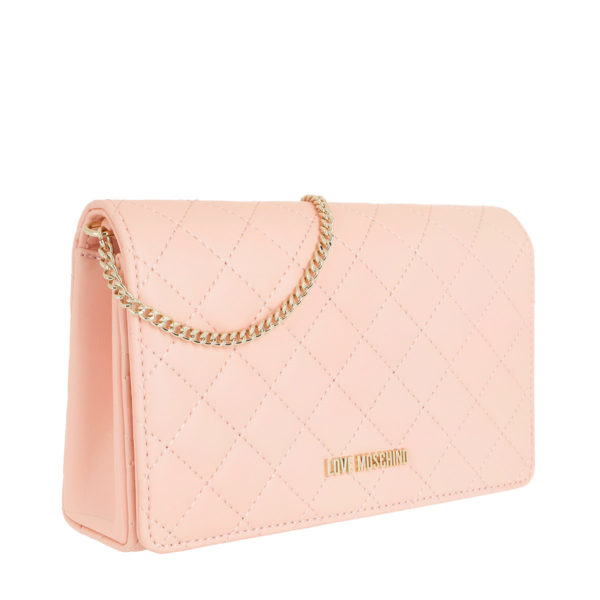 5c815316da16b Love Moschino Tasche – Quilted Nappa Chain Crossbody Bag Rosa – in rosa – für  Damen