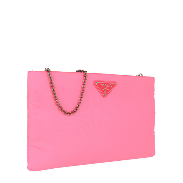 Prada-Clutch-Padded-Nylon-Clutch-Medium-Neon-Pink-in-pink-für-Damen-22474885095-1