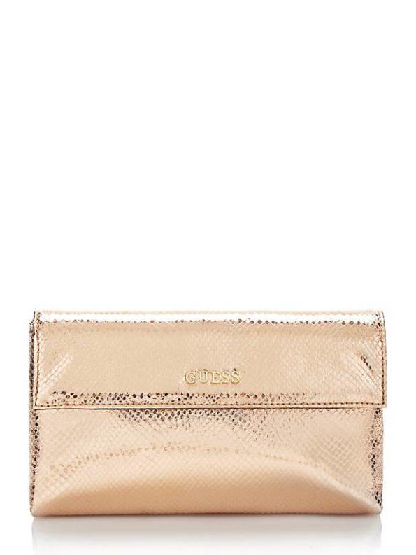 Guess Taschen Felix Handtasche in Silber