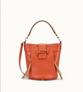 Tods Double T mini orange