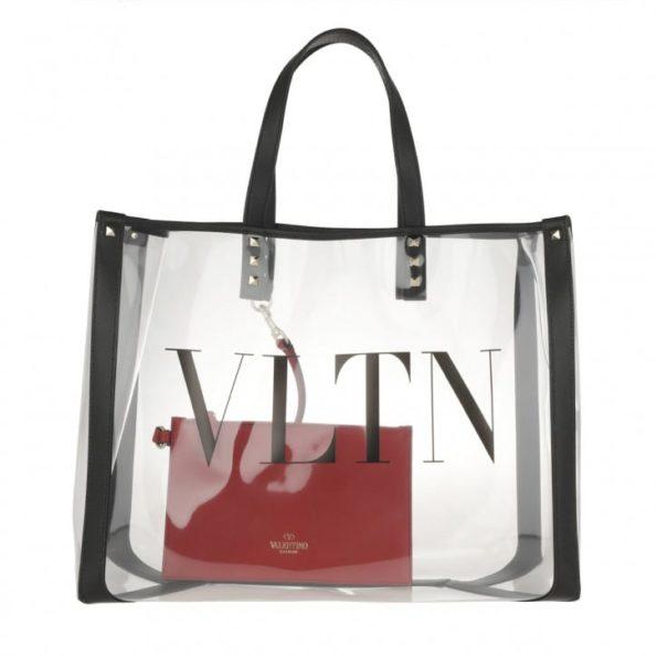 Valentino Tasche Shopper Transparent