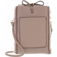 Abro Handyhüllen - Mobile-Crossbody Bag RAQUEL - in beige - für Damen