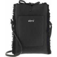 Abro Handyhüllen - Mobile-Crossbody Bag RAQUEL - in schwarz - für Damen