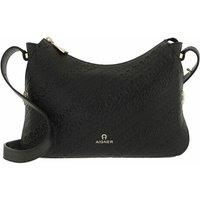 Aigner Hobo Bag - Milano Mini Bag - in schwarz - für Damen