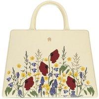 Aigner Satchel Bag - Handle Bag - in weiß - für Damen