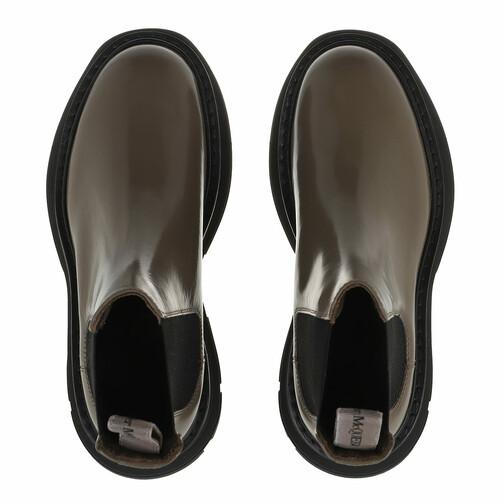 Alexander-McQueen-Boots-Stiefeletten-Bootie-Smooth-Leather-in-grau-fuer-Damen-30494697101-1