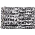 Alexander McQueen Crossbody Bags – Skull Crossbody Bag – in grau – für Damen