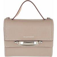 Alexander McQueen Satchel Bag - The Story Satchel Bag Leather - in grau - für Damen
