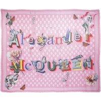 Alexander McQueen Tücher & Schals - Biker Shawl - in pink - für Damen