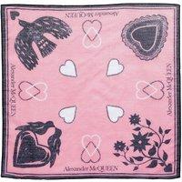 Alexander McQueen Tücher & Schals - Mystic Bandana - in pink - für Damen