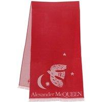 Alexander McQueen Tücher & Schals - Mystical Overs Scarf - in pink - für Damen