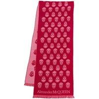 Alexander McQueen Tücher & Schals - Skull Scarf - in pink - für Damen
