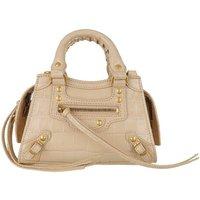 Balenciaga Crossbody Bags - Neo Classic Nano Tote Bag Leather - in beige - für Damen