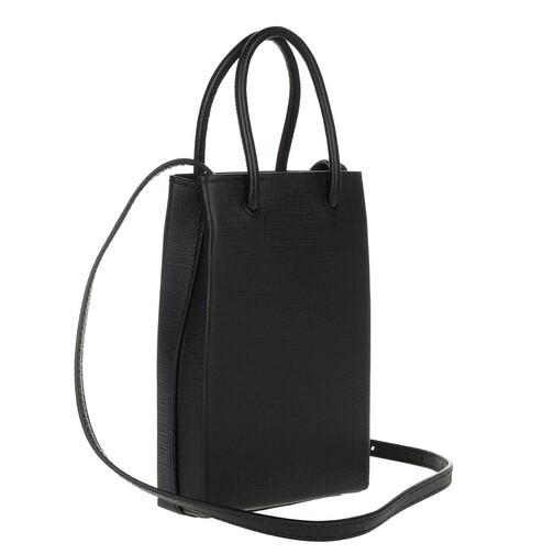 Balenciaga-Handyhuellen-Shopping-Phone-Holder-Bag-Leather-in-schwarz-fuer-Damen-30355198423-1