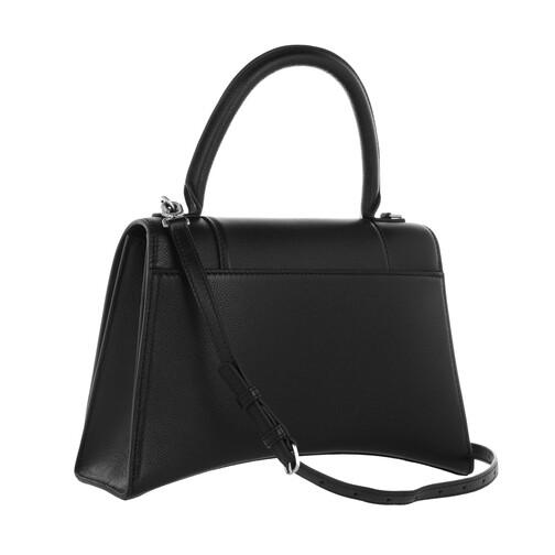 Balenciaga-Satchel-Bag-Hourglass-Medium-Satchel-Bag-Leather-in-schwarz-fuer-Damen-27158109783-1