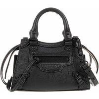 Balenciaga Satchel Bag - Neo Classic City Nano Bag Grained Calfskin - in schwarz - für Damen