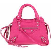 Balenciaga Satchel Bag - Neo Classic Mini Top Handle Bag Grained Calfskin - in pink - für Damen