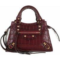 Balenciaga Satchel Bag - Neo Classic Mini Top Handle Bag Leather - in rot - für Damen