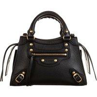 Balenciaga Tote - Neo Classic Mini Top Handle Bag Grained Calfskin - in schwarz - für Damen