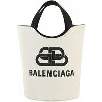 Balenciaga Tote - Wave Medium Tote Bag Canvas - in beige - für Damen