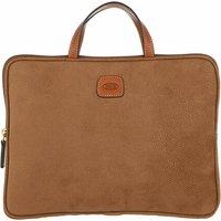 Bric's Laptoptaschen - Life Laptop Bag - in braun - für Damen