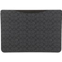 Coach Laptoptaschen - 16 Inch Laptop Sleeve In Signature - in grau - für Damen