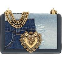 Dolce&Gabbana Crossbody Bags - Devotion Medium Crossbody Bag - in blau - für Damen