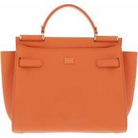 Dolce&Gabbana Satchel Bag - Sicily Medium Top Handle Bag Leather - in orange - für Damen