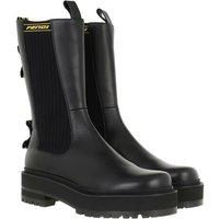 Fendi Boots & Stiefeletten - Biker Ankle Boots Leather - in schwarz - für Damen