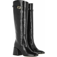 Fendi Boots & Stiefeletten - Boots Leather - in schwarz - für Damen