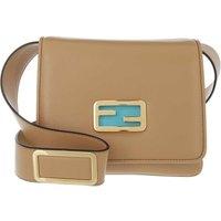 Fendi Crossbody Bags - ID Mini Crossbody Bag - in beige - für Damen