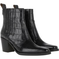 GANNI Boots & Stiefeletten - Ankle Boots - in schwarz - für Damen