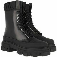 GANNI Boots & Stiefeletten - Boots Brush Off & Nylon - in schwarz - für Damen