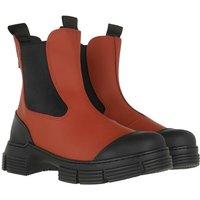 GANNI Boots & Stiefeletten - City Boot - in braun - für Damen