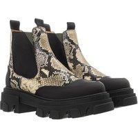 GANNI Boots & Stiefeletten - Low Chelsea Boot - in grün - für Damen