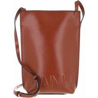 GANNI Crossbody Bags - Small Crossbody Bag Solid - in braun - für Damen