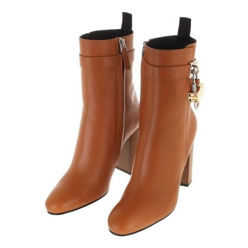 Givenchy-Boots-Stiefeletten-Padlock-Ankle-Boots-Leather-in-braun-fuer-Damen-29565162195-1