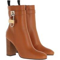 Givenchy Boots & Stiefeletten - Padlock Ankle Boots Leather - in braun - für Damen