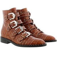 Givenchy Boots & Stiefeletten - Studded Ankle Boots - in cognac - für Damen