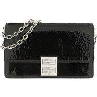 Givenchy Crossbody Bags - Small 4G Chain Bag Shinny Textured Leather - in schwarz - für Damen