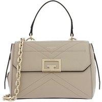 Givenchy Satchel Bag - Flap Crossbody Leather - in beige - für Damen