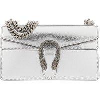 Gucci Crossbody Bags - Dionysus Small Shoulder Bag Leather - in silber - für Damen