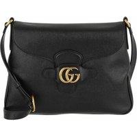 Gucci Crossbody Bags - GG Dahlia Crossbody Bag Leather Medium - in schwarz - für Damen