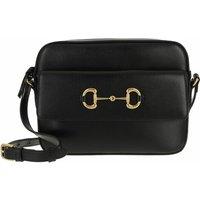 Gucci Crossbody Bags - Horsebit 1955 Small Shoulder Bag Leather - in schwarz - für Damen