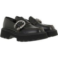 Gucci Loafers & Ballerinas - Tiger Head Loafers Leather - in schwarz - für Damen