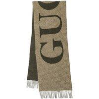 Gucci Tücher & Schals - Large Logo Scarf Wool - in grün - für Damen