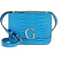 Guess Crossbody Bags - Corily Convertible Flap Crossbody Bag - in blau - für Damen
